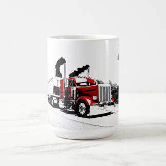 Blowing Through Peterbilt Mug