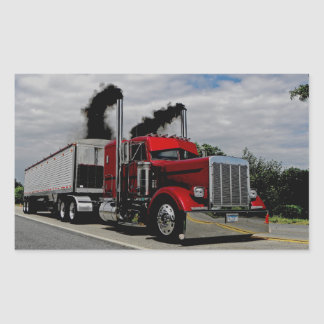Blowing Through Peterbilt v1 Stickers