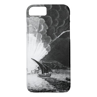 Blowing Up of the Fire Ship Intrepid commanded by iPhone 7 Case
