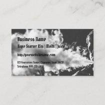 Blowing Vape Cloud Business Card