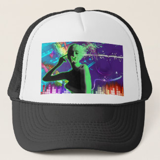 Blowing your mind with music trucker hat