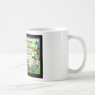 Blown 2 Smithereens Funny Gifts & Tees Coffee Mug