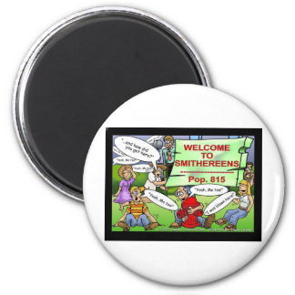 Blown 2 Smithereens Funny Gifts & Tees Magnet