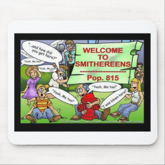 Blown 2 Smithereens Funny Gifts & Tees Mouse Pad