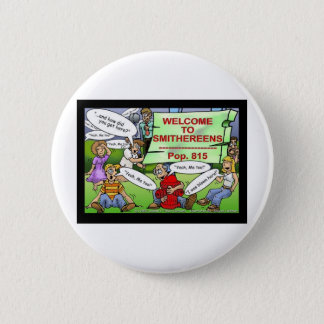 Blown 2 Smithereens Funny Gifts & Tees Pinback Button