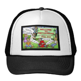 Blown 2 Smithereens Funny Gifts & Tees Trucker Hat