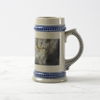 BLOWN AWAY AND SOARING 18 OZ BEER STEIN