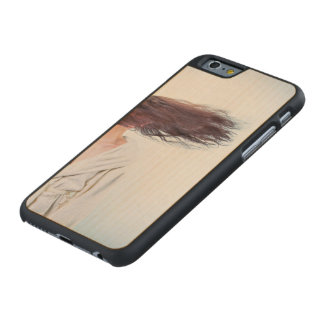 Blown away carved maple iPhone 6 case