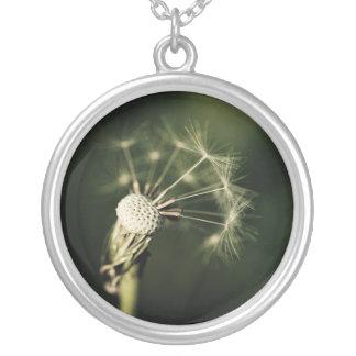 Blown Away- dandelion necklace