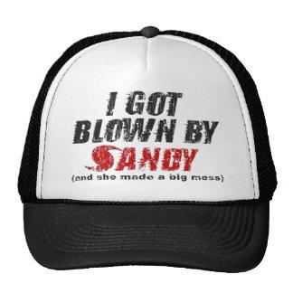 Blown By Sandy Distressed Hurricane Sandy Hat
