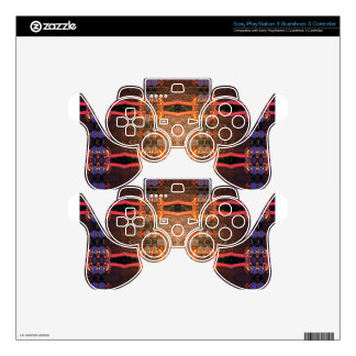 Blown Glass Skins For PS3 Controllers
