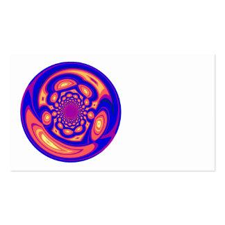 Blown Lava Glass Business Card