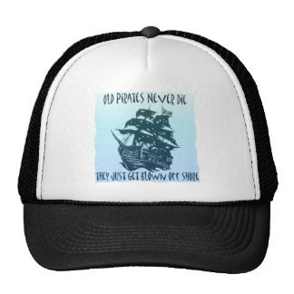 Blown off shore trucker hat