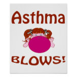 Blows Asthma Poster