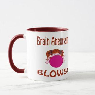 Blows Brain Aneurysm Mug