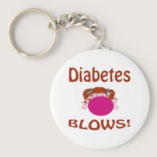 Blows Diabetes Keychain