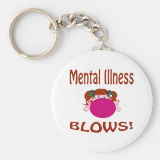 Blows Mental Illness Keychain