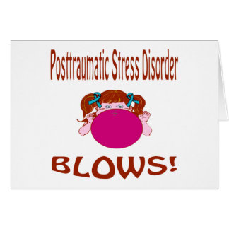 Blows Posttraumatic Stress Disorder Card