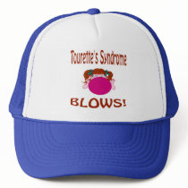 Blows Tourette'S Syndrome Hat