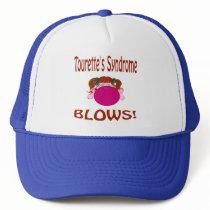 Blows Tourette'S Syndrome Hat