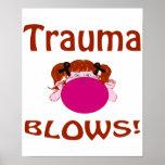 Blows Trauma Poster