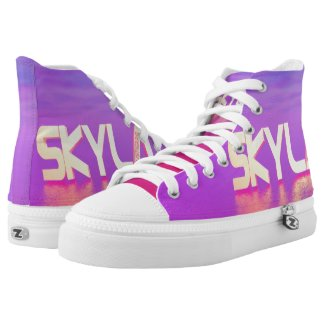 Blox3dnyc.com Elite Design High-Top Sneakers