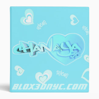Blox3dnyc.com Heart1 design for Chanaya Binder