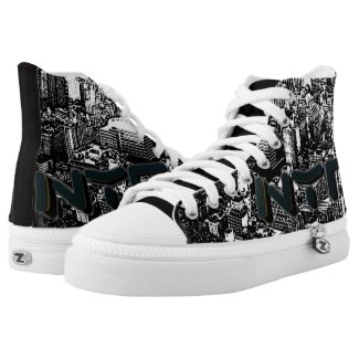 Blox3dnyc.com Nyc.Designed by Qproduct. High-Top Sneakers