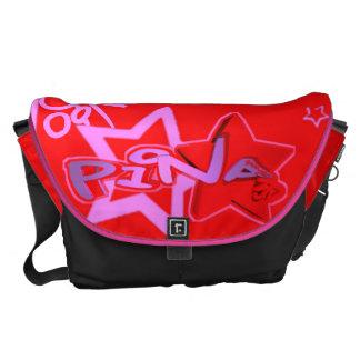 Blox3dnyc.com Urban star design for Pina. Courier Bag