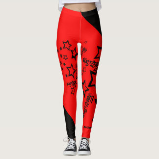 Blox3dnyc.com Urban star design for Skyla Leggings