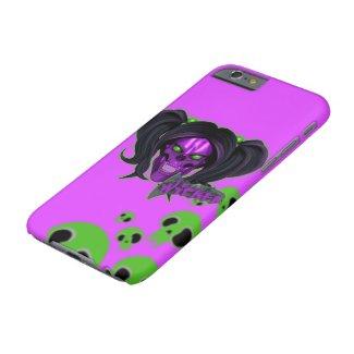Blox3dnyc.com Wicked lady design.Green/Purple Case-Mate iPhone Case