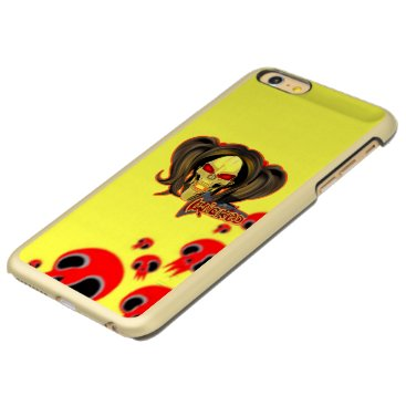 Blox3dnyc.com Wicked lady design.Red/Yellow Incipio Feather Shine iPhone 6 Plus Case