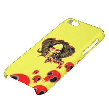 Blox3dnyc.com Wicked lady design.Red/Yellow Case For iPhone 5C