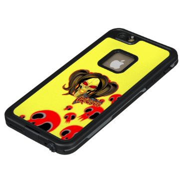 Blox3dnyc.com Wicked lady design.Red/Yellow LifeProof FRĒ iPhone 6/6s Plus Case
