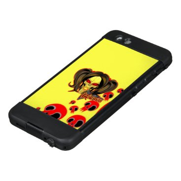 Blox3dnyc.com Wicked lady design.Red/Yellow LifeProof NÜÜD iPhone 6 Case