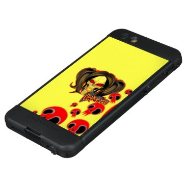 Blox3dnyc.com Wicked lady design.Red/Yellow LifeProof NÜÜD iPhone 6s Plus Case