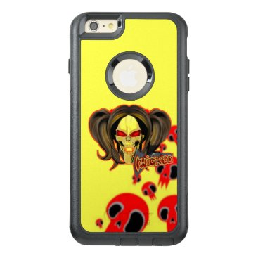 Blox3dnyc.com Wicked lady design.Red/Yellow OtterBox iPhone 6/6s Plus Case