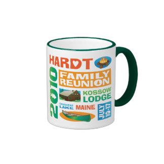 Blox Hardt Family Reunion Ringer Coffee Mug