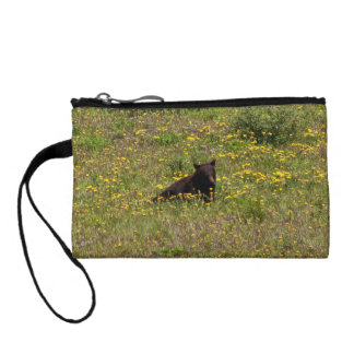 BLST Black Bear Snack Time Coin Wallets