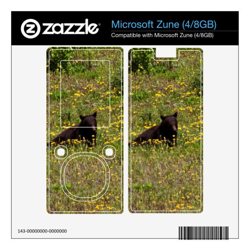 BLST Black Bear Snack Time Decals For Zune