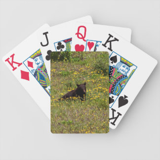 BLST Black Bear Snack Time Bicycle Playing Cards