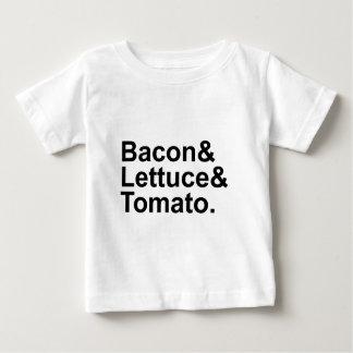 BLT Bacon Lettuce Tomato List String Baby T-Shirt