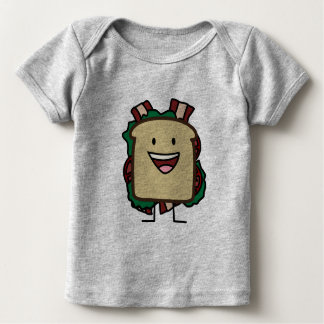 BLT Sandwich Bacon Lettuce and Tomato Foods Design Baby T-Shirt