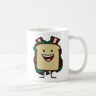 BLT Sandwich Bacon Lettuce and Tomato Foods Design Coffee Mug