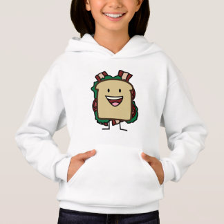 BLT Sandwich Bacon Lettuce and Tomato Foods Design Hoodie