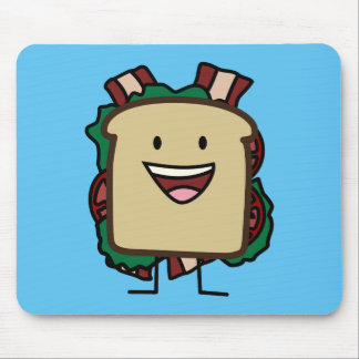 BLT Sandwich Bacon Lettuce and Tomato Foods Design Mouse Pad