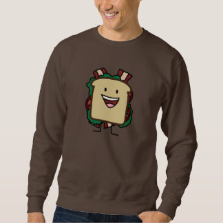 BLT Sandwich Bacon Lettuce and Tomato Foods Design Sweatshirt