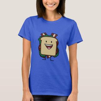 BLT Sandwich Bacon Lettuce and Tomato Foods Design T-Shirt