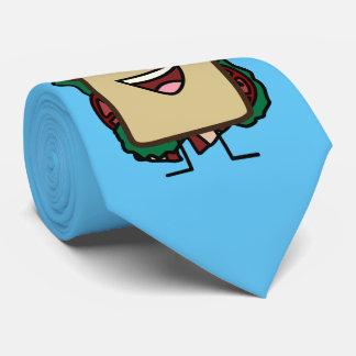 BLT Sandwich Bacon Lettuce and Tomato Foods Design Tie