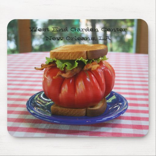 BLT with Giant Tomato Mousepad